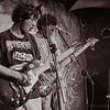 Guitarrista Rodrigo Boza & bajista Alejandro Caballero - La Base Punk Vernakular - Festival del Arco Iris - Cusco - Perú