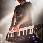 Janne Bj�rkroth - Battle Beast @ Biebob - Vosselaar - Belgium/B�lgica
