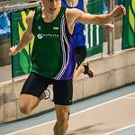 Seppe Thys (AC Meetjesland) in de reeksen van de 2OO M @ Kampioenschap van Vlaanderen - BLOSO Topsporthal - Gent