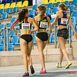 West-Vlaamse dames na de finale 60 M Dames @ Kampioenschap van Vlaanderen - BLOSO Topsporthal - Gent