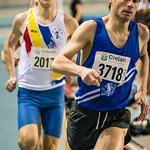 1.500 M Heren @ Kampioenschap van Vlaanderen - BLOSO Topsporthal - Gent