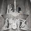 Detalle de La Sagrada Familia - Barcelona - España